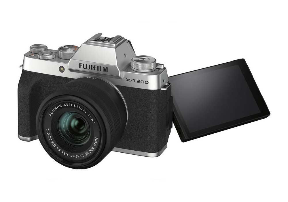 Fujifilm X-T200 je kompaktní