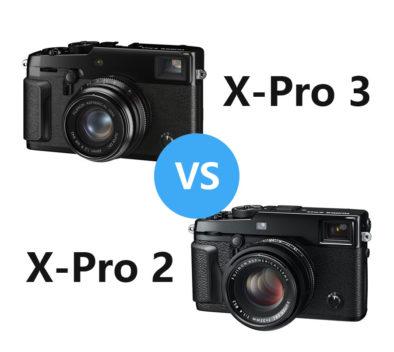 Fujitilm X-Pro 3 vs Fujifilm X-Pro 2