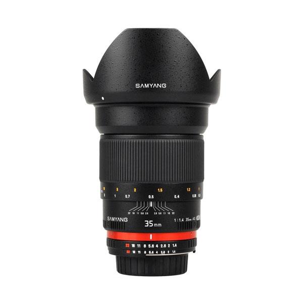 Objektiv Samyang 35mm f/1,4 pro Fuji X