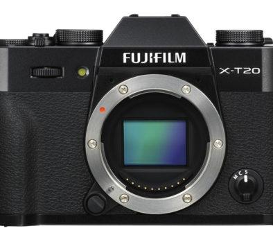 Fotoaparát Fujifilm X-T20 recenze