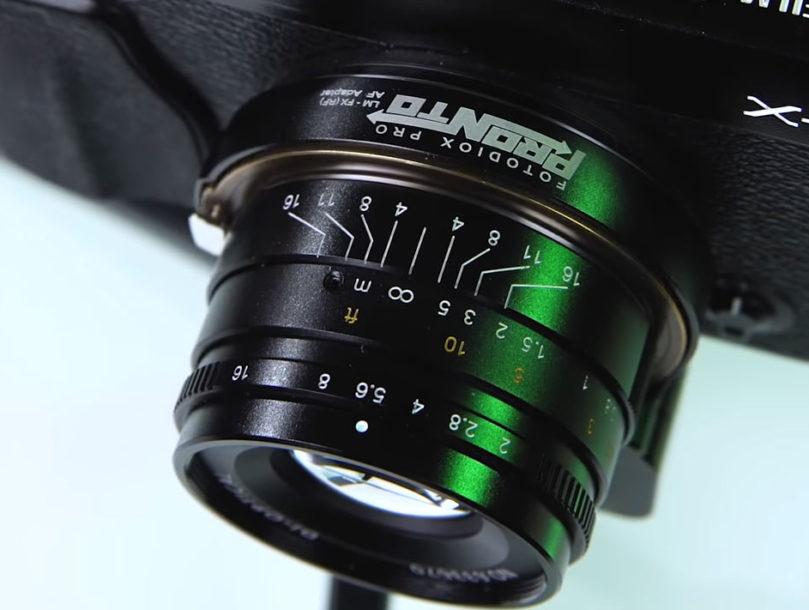 Manuální Leica objektivy na Fujifilm foťácích s autofocusem