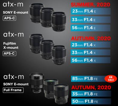 Tokina oznámila, že vydá nové objektivy na Fujifilm